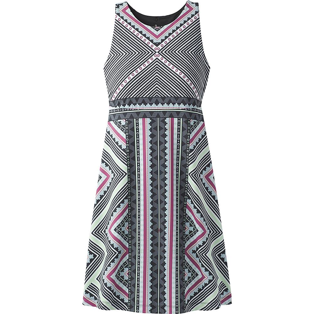 PrAna Ariel Dress L - Sangria Taos - PrAna Womens Apparel - Apparel & Footwear, Women's Apparel