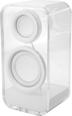 Yell by Voguestrap Clearholic Transparent Bluetooth Speaker White - Yell by Voguestrap Headphones & Speakers