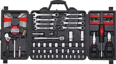 Apollo Tools 101 Piece Mechanics Tool Kit Black - Apollo Tools Sports Accessories