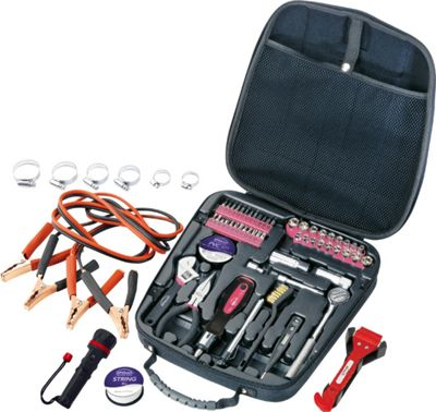 Apollo Tools 64 Piece Travel & Automotive Tool Kit Pink - Apollo Tools Sports Accessories