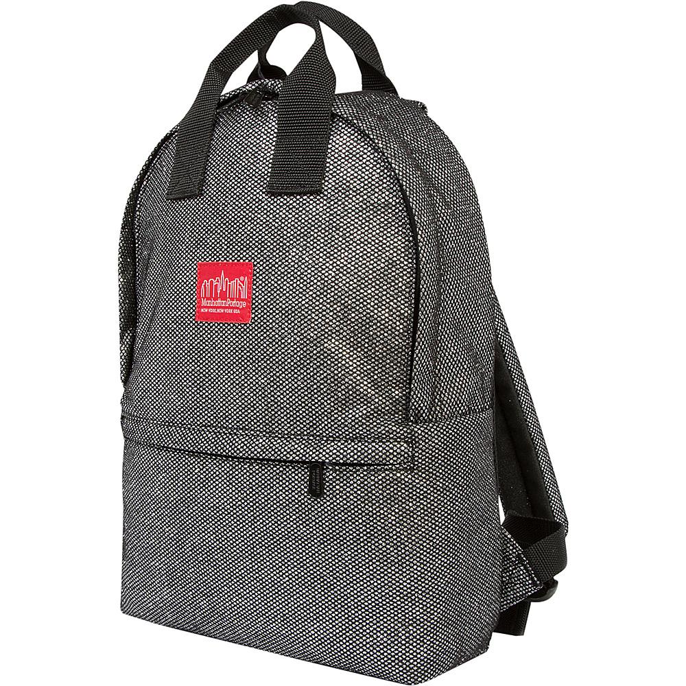 Manhattan Portage Midnight Governors Backpack Gunmetal Silver - Manhattan Portage School & Day Hiking Backpacks - Backpacks, School & Day Hiking Backpacks