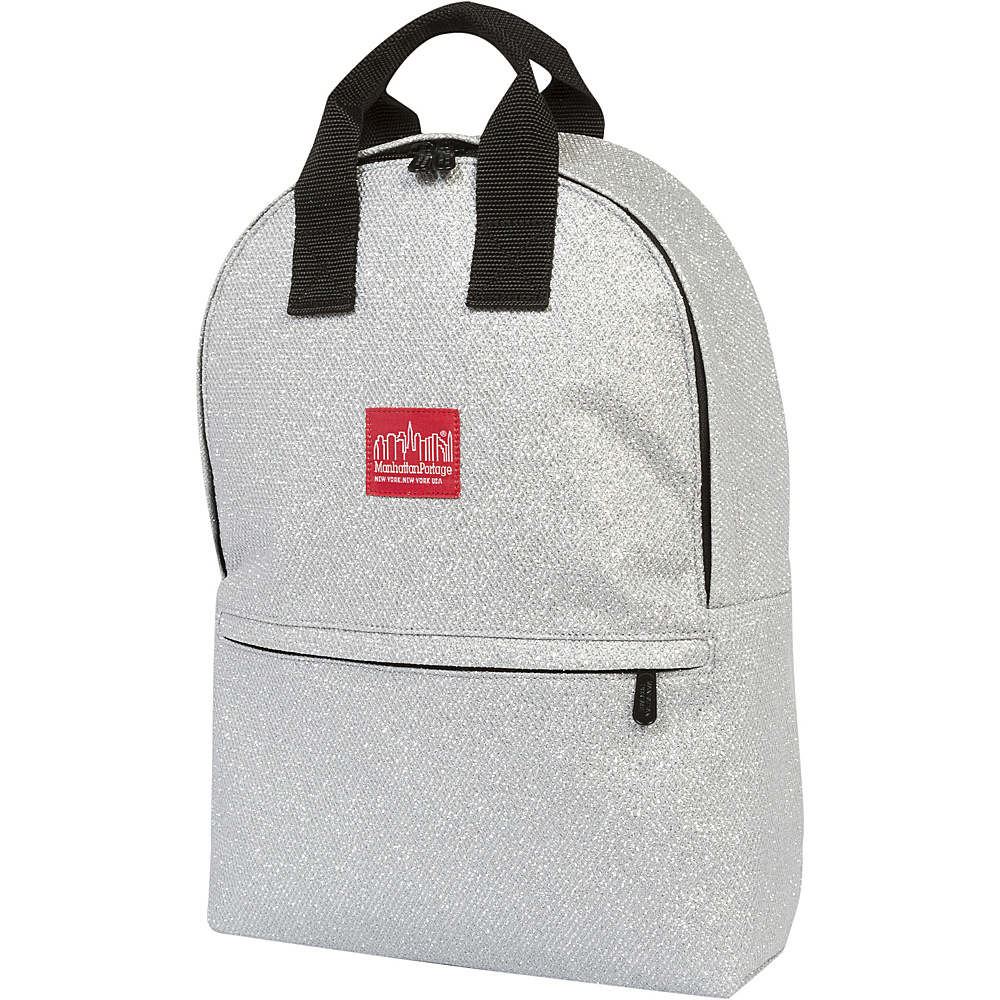 Manhattan Portage Midnight Governors Backpack Silver - Manhattan Portage School & Day Hiking Backpacks - Backpacks, School & Day Hiking Backpacks