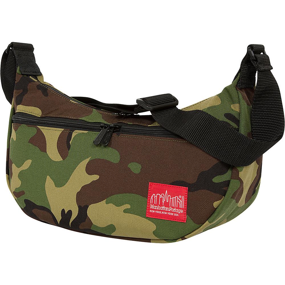 Manhattan Portage Crescent Street Shoulder Bag Camo - Manhattan Portage Designer Handbags - Handbags, Designer Handbags