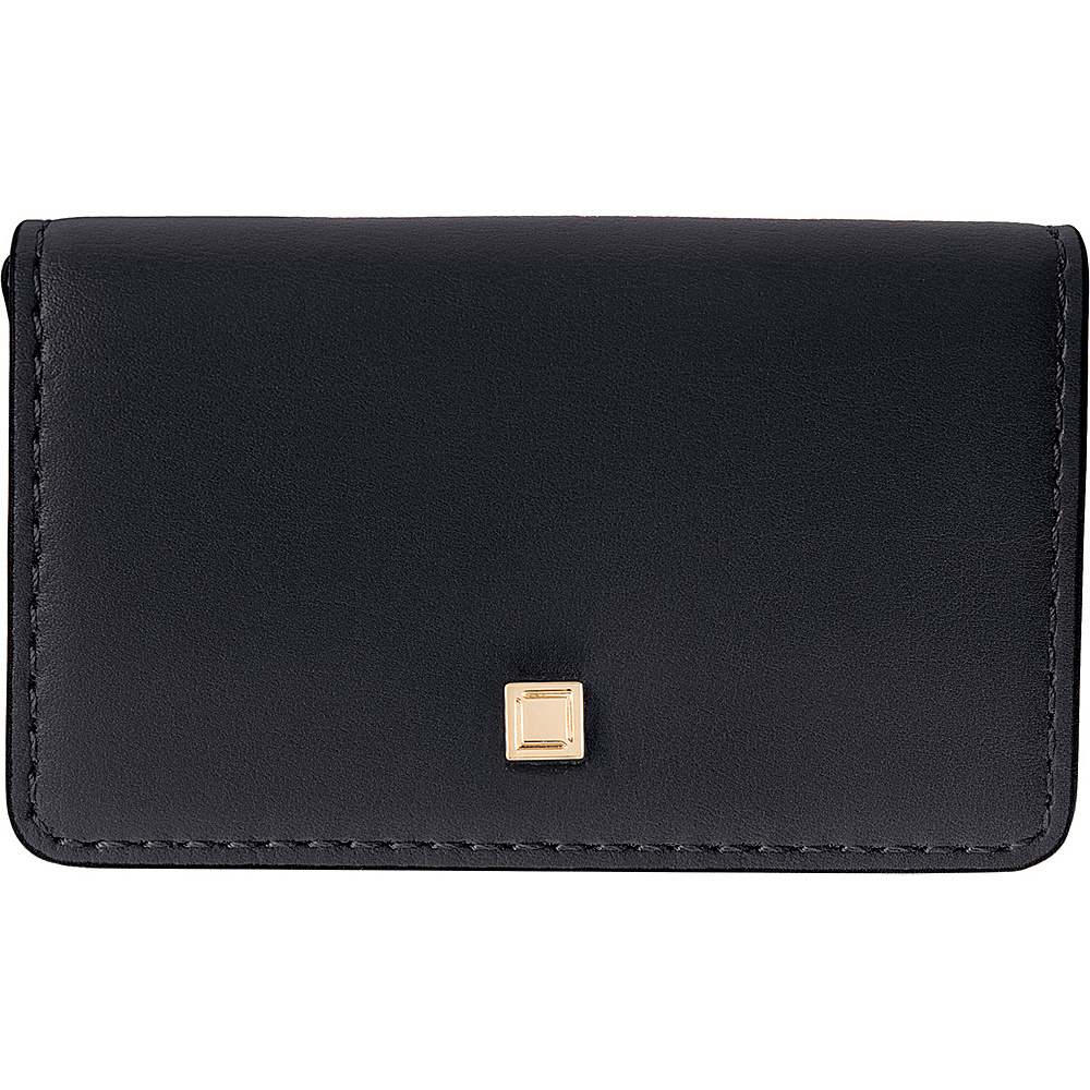Lodis Silicon Valley RFID Mini Card Case Black/ Taupe - Lodis Womens Wallets - Women's SLG, Women's Wallets
