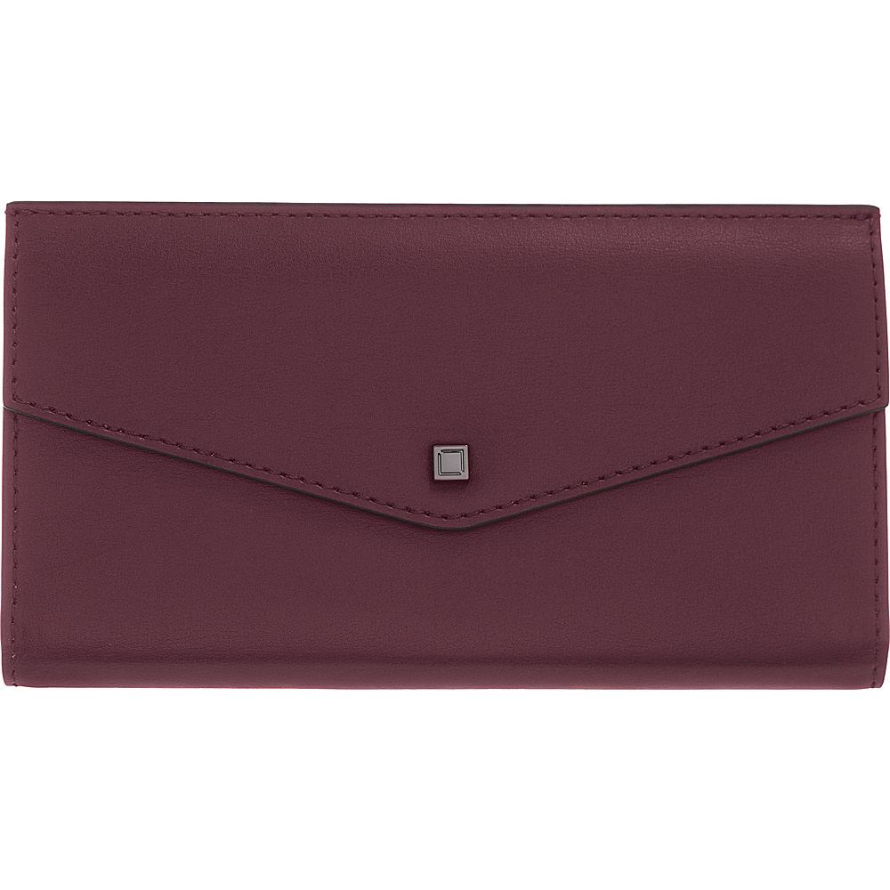 Lodis Silicon Valley RFID Amanda Continental Clutch Chianti/Taupe - Lodis Womens Wallets - Women's SLG, Women's Wallets