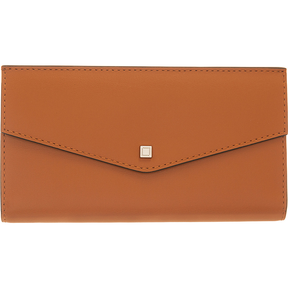 Lodis Silicon Valley RFID Amanda Continental Clutch Toffee/Taupe - Lodis Womens Wallets - Women's SLG, Women's Wallets