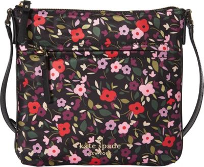 kate spade new york Watson Lane Hester Crossbody Boho Floral - kate spade new york Designer Handbags