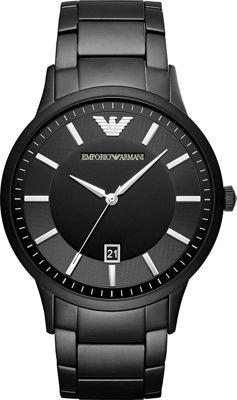 Emporio Armani Fashion Watch Black - Emporio Armani Watches