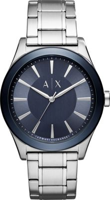 A/X Armani Exchange A/X Armani Exchange Dress Watch Silver - A/X Armani Exchange Watches