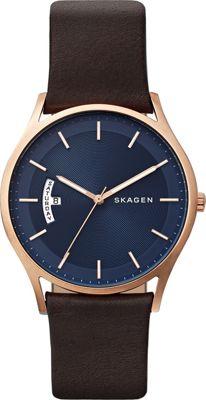 Skagen Holst Watch Brown - Skagen Watches