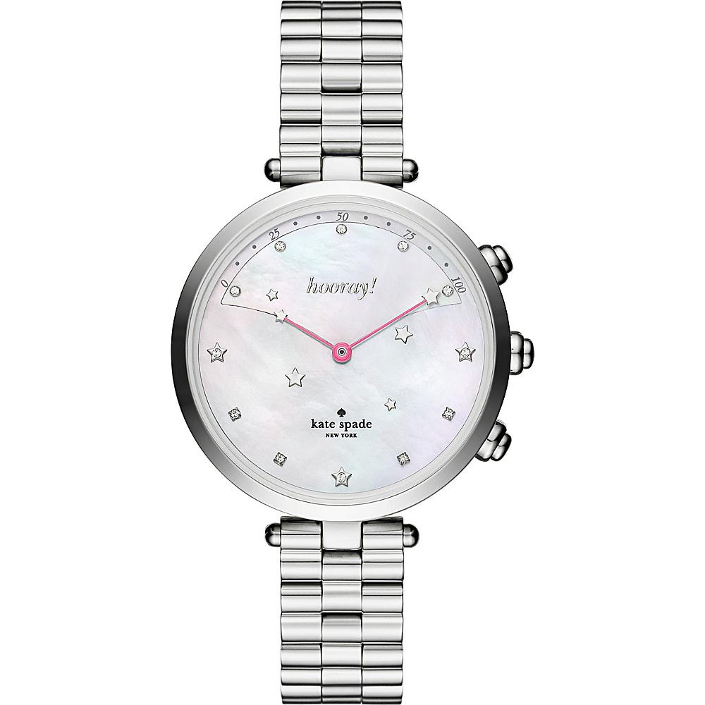kate spade watches Holland Hybrid Smartwatch Silver - kate spade watches Watches
