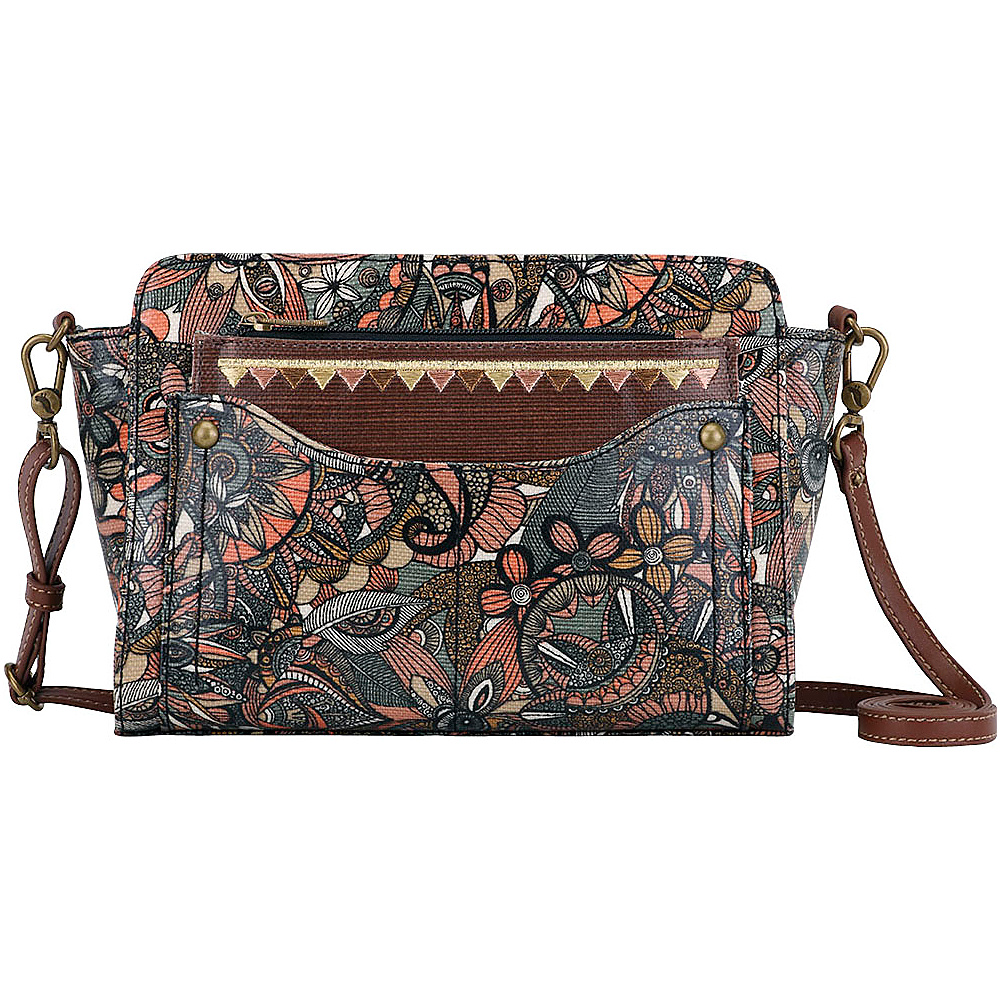 Sakroots Tracy Small Charging Crossbody Sienna Spirit Desert - Sakroots Fabric Handbags - Handbags, Fabric Handbags