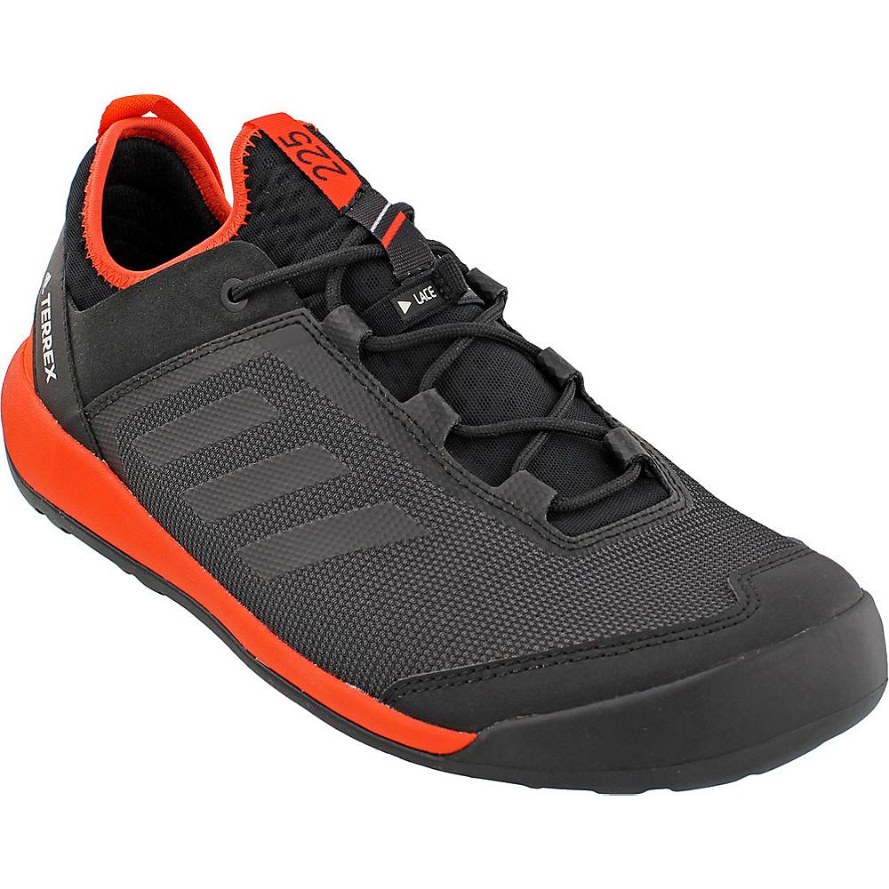 adidas outdoor Mens Terrex Swift Solo Shoe 9 - Black/Black/Energy - adidas outdoor Mens Footwear - Apparel & Footwear, Men's Footwear