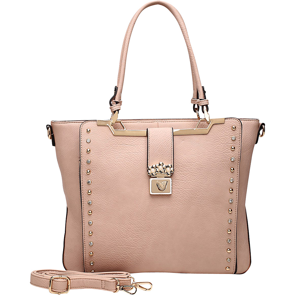 MKF Collection by Mia K. Farrow Francesca Satchel Pink - MKF Collection by Mia K. Farrow Manmade Handbags - Handbags, Manmade Handbags