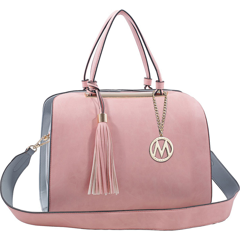 MKF Collection by Mia K. Farrow Viola Tote Pink - MKF Collection by Mia K. Farrow Manmade Handbags - Handbags, Manmade Handbags