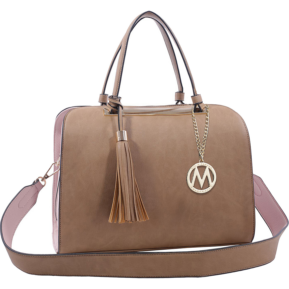 MKF Collection by Mia K. Farrow Viola Tote Khaki - MKF Collection by Mia K. Farrow Manmade Handbags - Handbags, Manmade Handbags