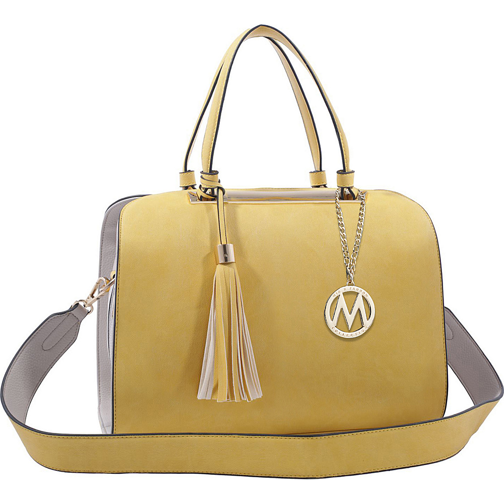 MKF Collection by Mia K. Farrow Viola Tote Yellow - MKF Collection by Mia K. Farrow Manmade Handbags - Handbags, Manmade Handbags