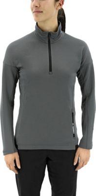 adidas outdoor Womens Terrex Tivid 1/2 Zip Fleece XL - Grey Five - adidas outdoor Women's Apparel