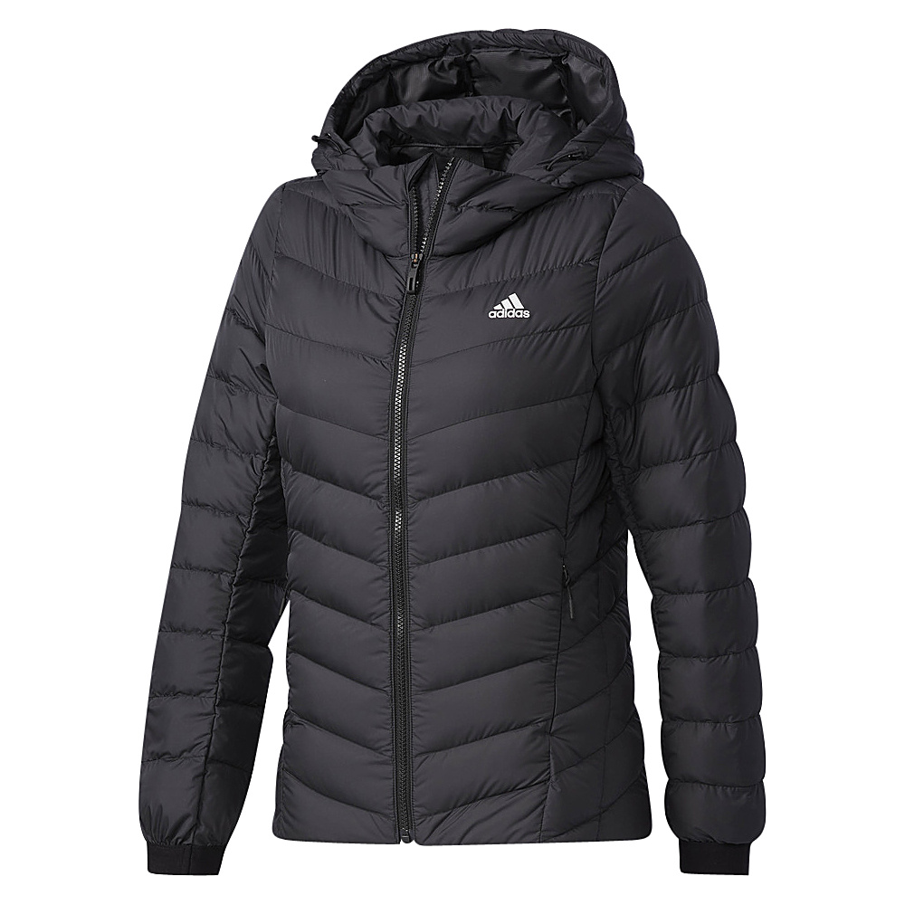 adidas outdoor Womens Climawarm Soft Down Jacket M - Black/Black - adidas outdoor Womens Apparel - Apparel & Footwear, Women's Apparel