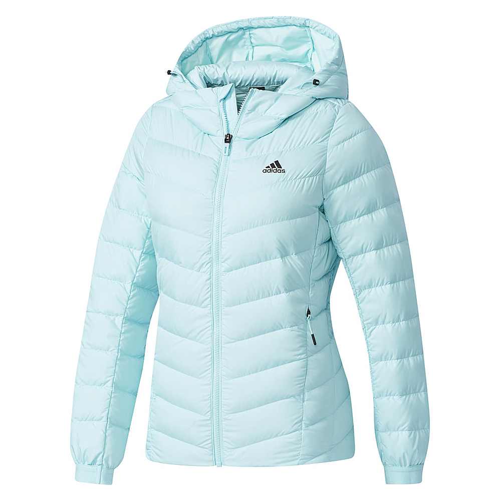 adidas outdoor Womens Climawarm Soft Down Jacket XL - Clear Aqua/Clear Aqua - adidas outdoor Womens Apparel - Apparel & Footwear, Women's Apparel
