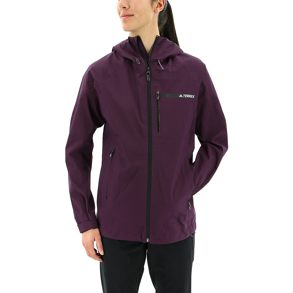 adidas outdoor Womens Terrex Fastr GTX Jacket S - Red Night - adidas outdoor Womens Apparel - Apparel & Footwear, Women's Apparel