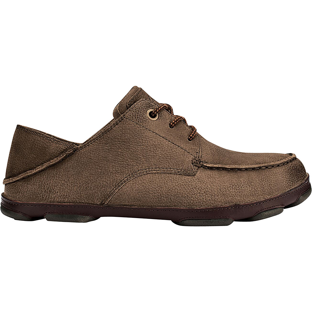 OluKai Mens Hamakua Poko Shoe 9 - Ray/Dark Wood - OluKai Mens Footwear - Apparel & Footwear, Men's Footwear