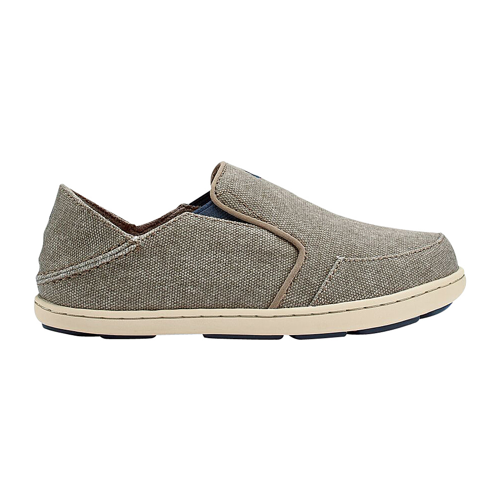 OluKai Boys Nohea Lole Slip-On 9 (US Toddlers) - Clay/Trench Blue - OluKai Mens Footwear - Apparel & Footwear, Men's Footwear