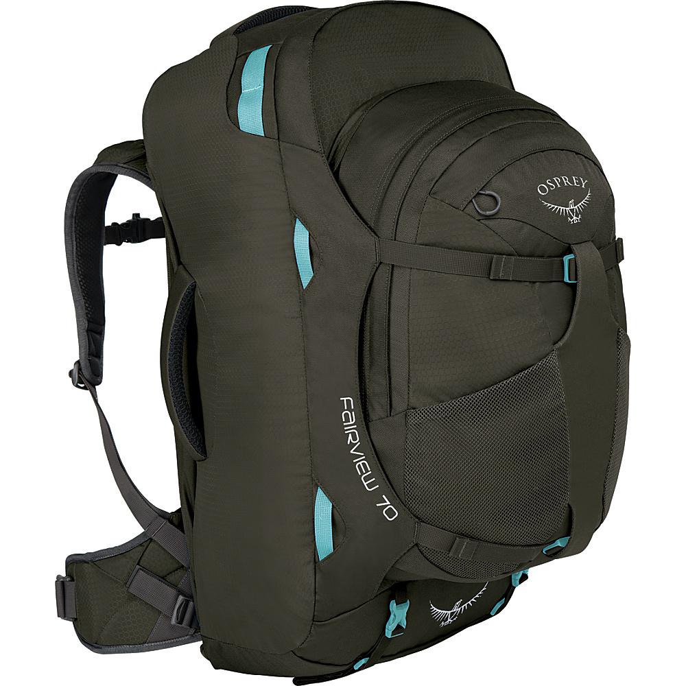 Osprey Womens Fairview 70L Travel Backpack Misty Grey - XS/S - Osprey Travel Backpacks - Backpacks, Travel Backpacks