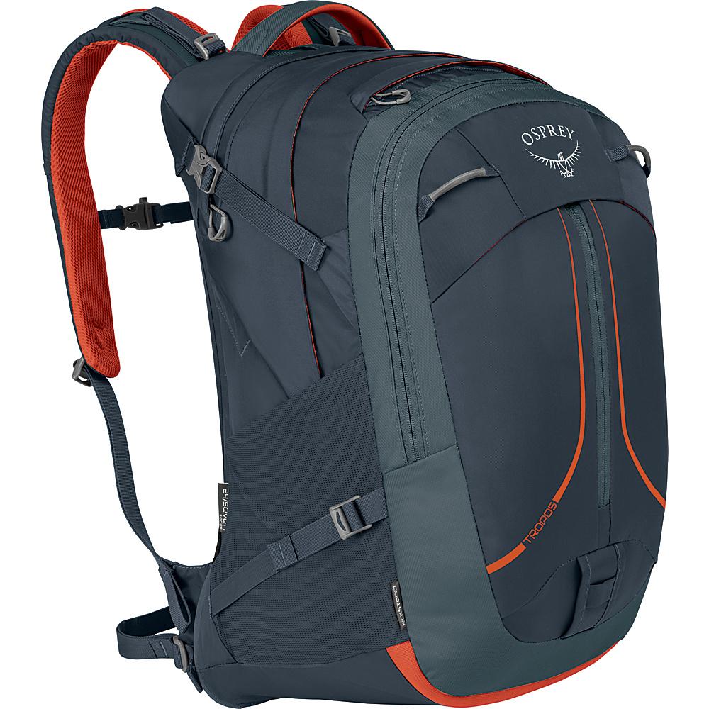 Osprey Tropos 32L Laptop Backpack Armor Grey - Osprey Laptop Backpacks - Backpacks, Laptop Backpacks