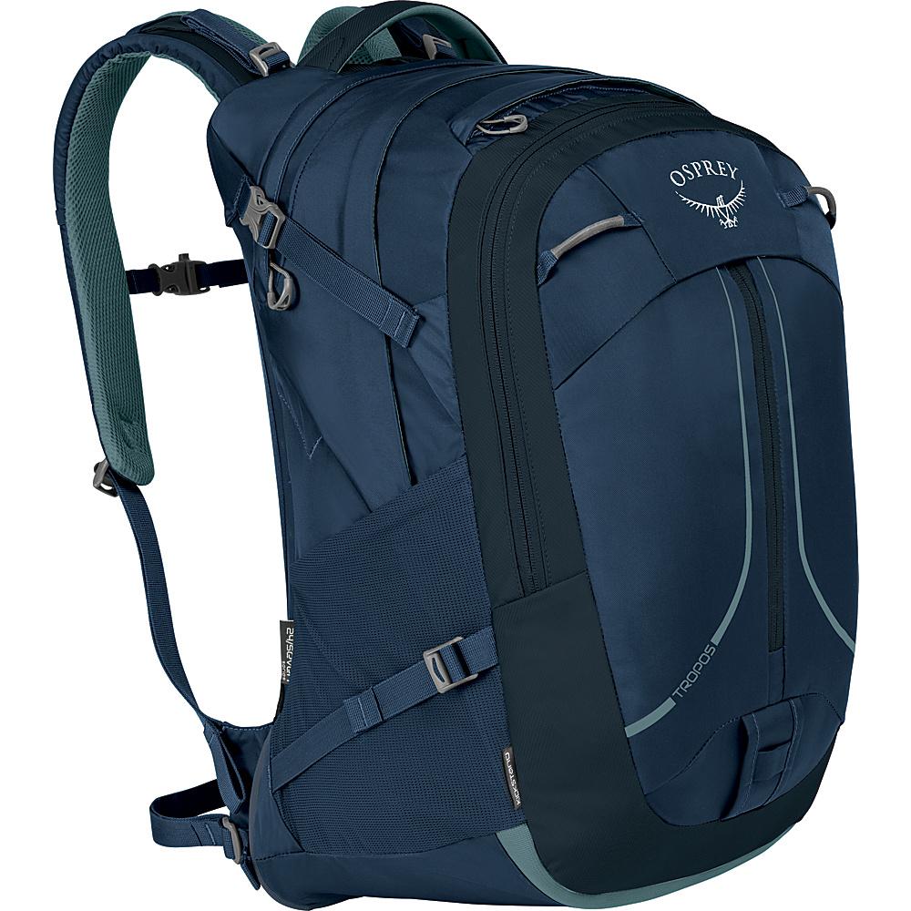 Osprey Tropos 32L Laptop Backpack Navy Blue - Osprey Laptop Backpacks - Backpacks, Laptop Backpacks