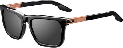 IVI IVI Gravitas Sunglasses Polished Black And Copper - IVI Eyewear
