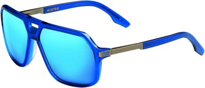IVI IVI Hunter Sunglasses Matte Midway Blue - Antique Brass - IVI Eyewear