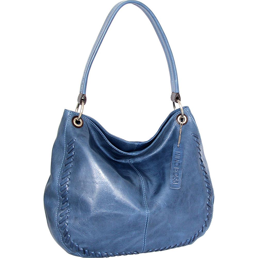 Nino Bossi Tessa Hobo Denim - Nino Bossi Leather Handbags - Handbags, Leather Handbags