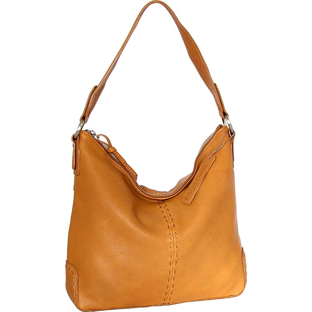 Nino Bossi Jayda Shoulder Bag Cognac - Nino Bossi Leather Handbags - Handbags, Leather Handbags
