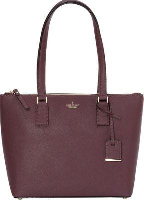 kate spade new york Cameron Street Small Lucie Shoulder Bag Deep Plum - kate spade new york Designer Handbags
