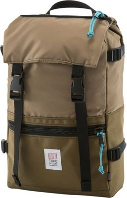 Topo Designs Rover Pack Laptop Backpack Coyote - Topo Designs Laptop Backpacks