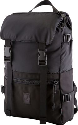 Topo Designs Rover Pack Laptop Backpack Ballistic Black - Topo Designs Laptop Backpacks