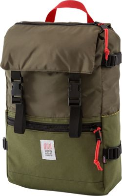 Topo Designs Rover Pack Laptop Backpack Olive - Topo Designs Laptop Backpacks