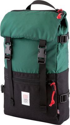 Topo Designs Rover Pack Laptop Backpack Forest/Black - Topo Designs Laptop Backpacks