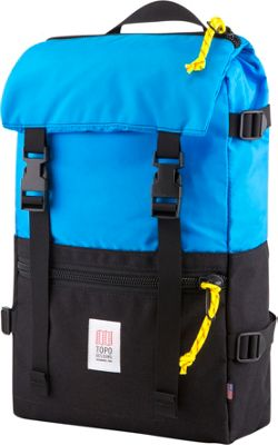 Topo Designs Rover Pack Laptop Backpack Royal/Black - Topo Designs Laptop Backpacks