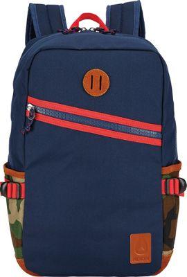 Nixon Scout Laptop Backpack II Navy / Woodland Camo - Nixon Laptop Backpacks
