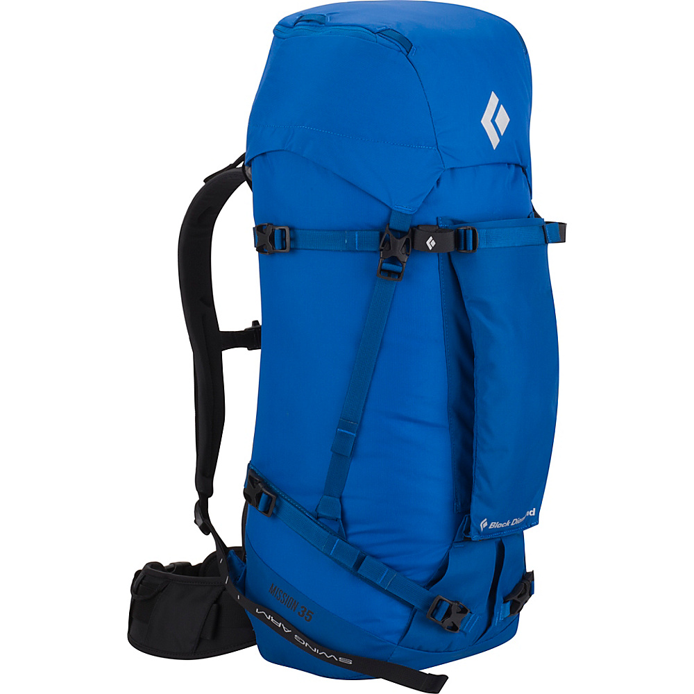 Black Diamond Mission 35 Hiking Pack Cobalt - Small/Medium - Black Diamond Backpacking Packs - Outdoor, Backpacking Packs