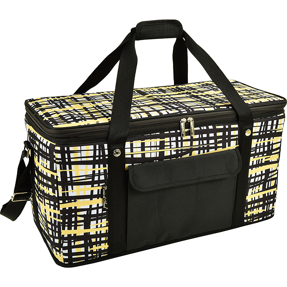 Picnic at Ascot Collapsible 64 Can Semi Rigid Soft Folding Cooler with High Density Insulation Paris - Picnic at Ascot Travel Coolers - Travel Accessories, Travel Coolers