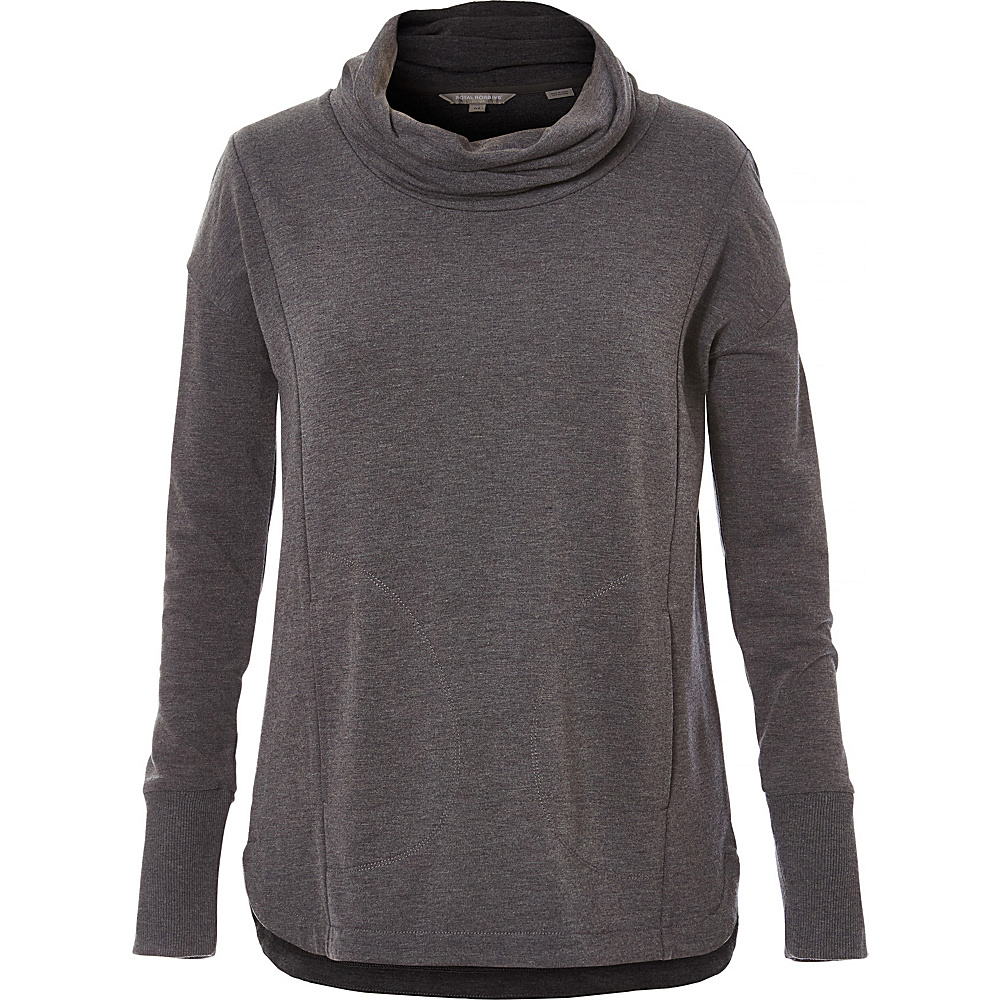 Royal Robbins Womens Channel Island Pullover S - Charcoal - Royal Robbins Womens Apparel - Apparel & Footwear, Women's Apparel