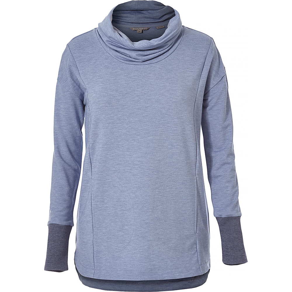 Royal Robbins Womens Channel Island Pullover S - Blue Indigo - Royal Robbins Womens Apparel - Apparel & Footwear, Women's Apparel