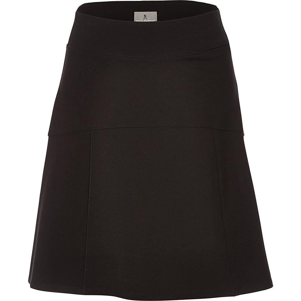 Royal Robbins Womens Lucerne Ponte Swingy Skirt S - Jet Black - Royal Robbins Womens Apparel - Apparel & Footwear, Women's Apparel
