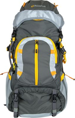 All of Us 45L Hiking Pack Grey/Orange - All of Us Day Hiking Backpacks