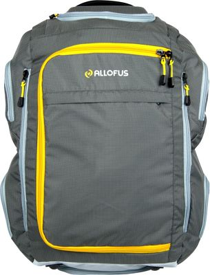 All of Us Sherpa Sport Convertible Laptop Backpack/Duffel Grey - All of Us Business & Laptop Backpacks