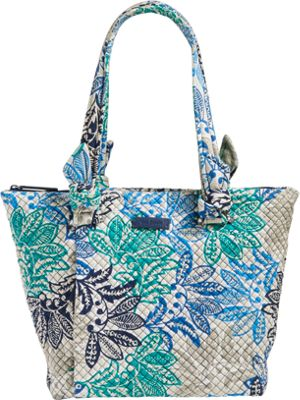 Vera Bradley Hadley East West Tote - Retired Colors Santiago - Vera Bradley Fabric Handbags