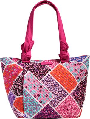 Vera Bradley Hadley East West Tote - Retired Colors Modern Medley - Vera Bradley Fabric Handbags